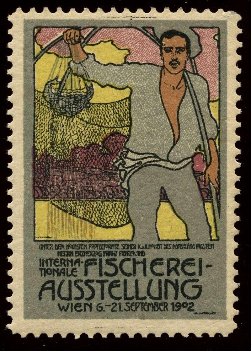 Nachlass-Sammlung Vignetten, etc. ab 1896 - Kaiserreich, usw. 1902_f10
