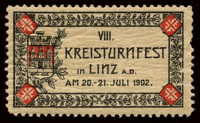 Nachlass-Sammlung Vignetten, etc. ab 1896 - Kaiserreich, usw. 1902_k10