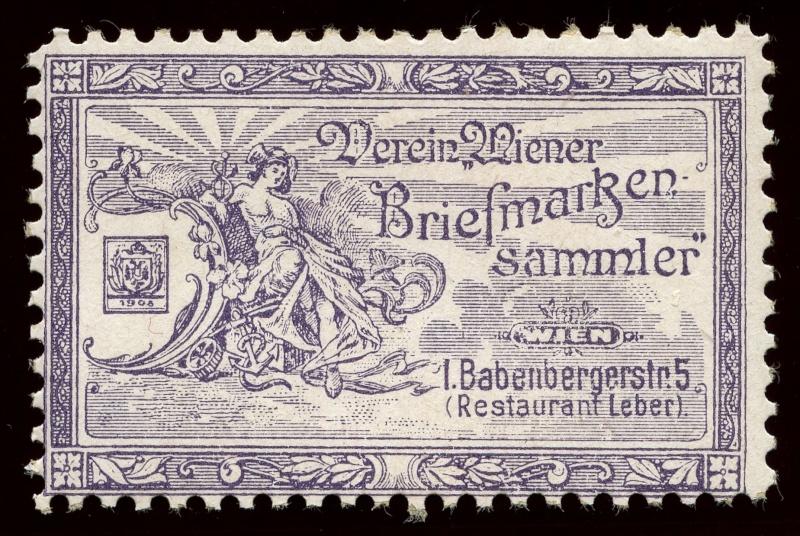 Nachlass-Sammlung Vignetten, etc. ab 1896 - Kaiserreich, usw. 1905_w10