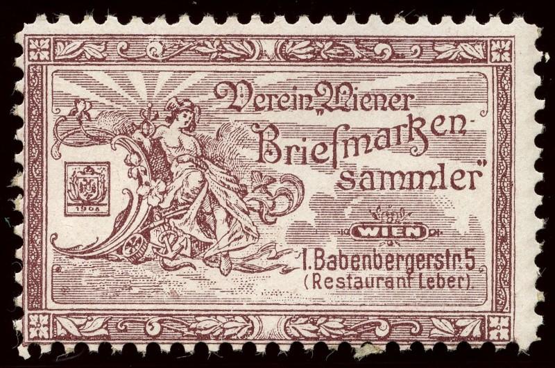 Nachlass-Sammlung Vignetten, etc. ab 1896 - Kaiserreich, usw. 1905_w11
