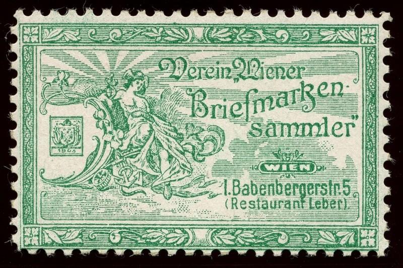 Nachlass-Sammlung Vignetten, etc. ab 1896 - Kaiserreich, usw. 1905_w12