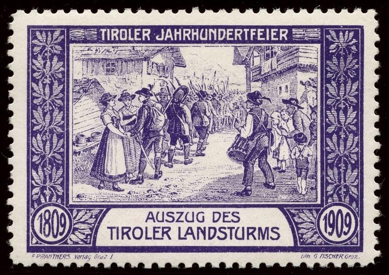 Nachlass-Sammlung Vignetten, etc. ab 1896 - Kaiserreich, usw. 1909_a10