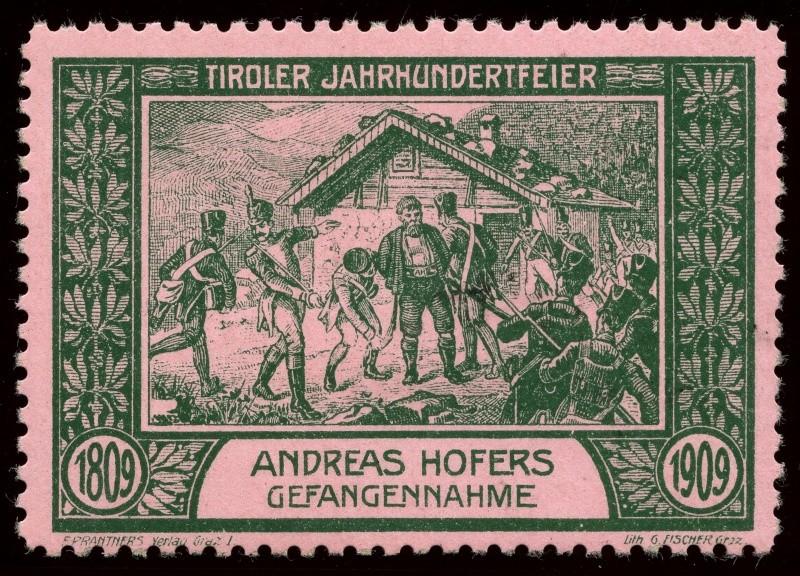 Nachlass-Sammlung Vignetten, etc. ab 1896 - Kaiserreich, usw. 1909_g13