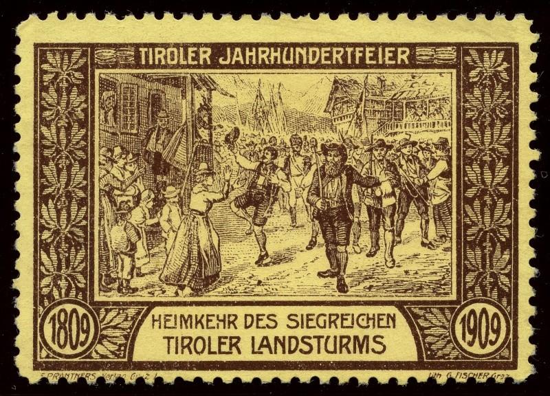 Nachlass-Sammlung Vignetten, etc. ab 1896 - Kaiserreich, usw. 1909_h12