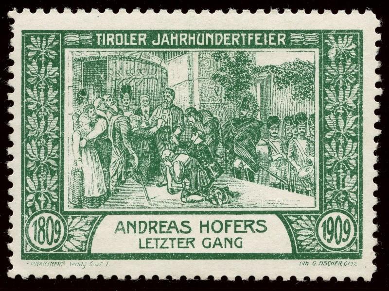 Nachlass-Sammlung Vignetten, etc. ab 1896 - Kaiserreich, usw. 1909_h13