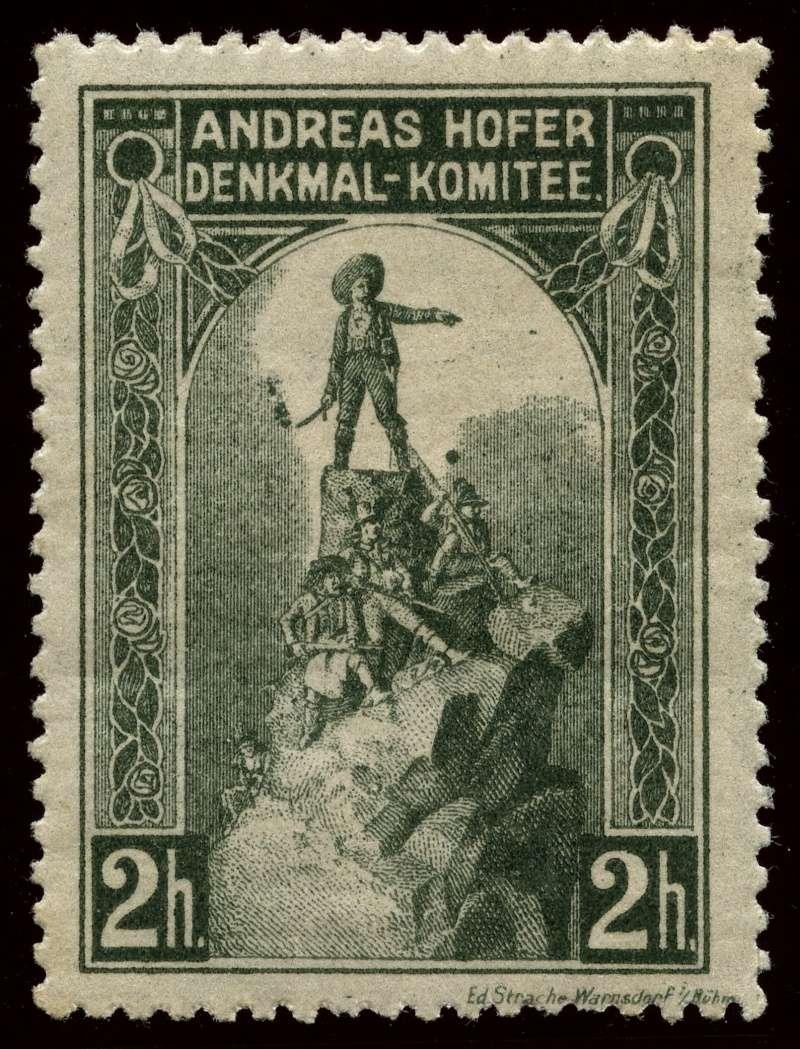 Nachlass-Sammlung Vignetten, etc. ab 1896 - Kaiserreich, usw. 1909_h14