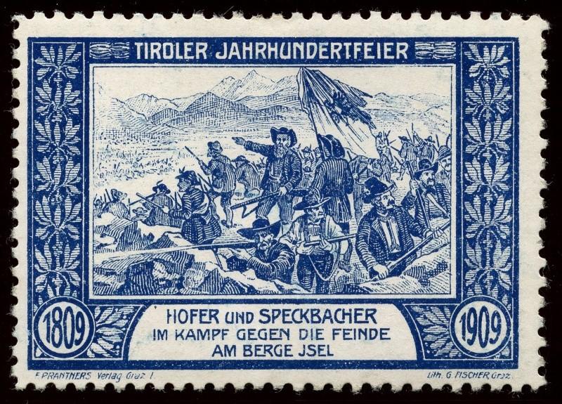 Nachlass-Sammlung Vignetten, etc. ab 1896 - Kaiserreich, usw. 1909_i11