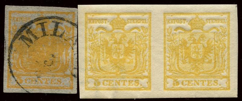 Lombardei - Venetien 1850 - 1858 - Seite 3 1_und_10