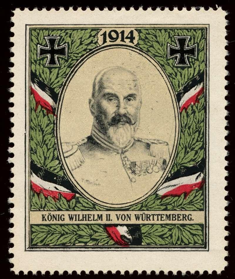 Nachlass-Sammlung Vignetten, etc. ab 1896 - Kaiserreich, usw. 610