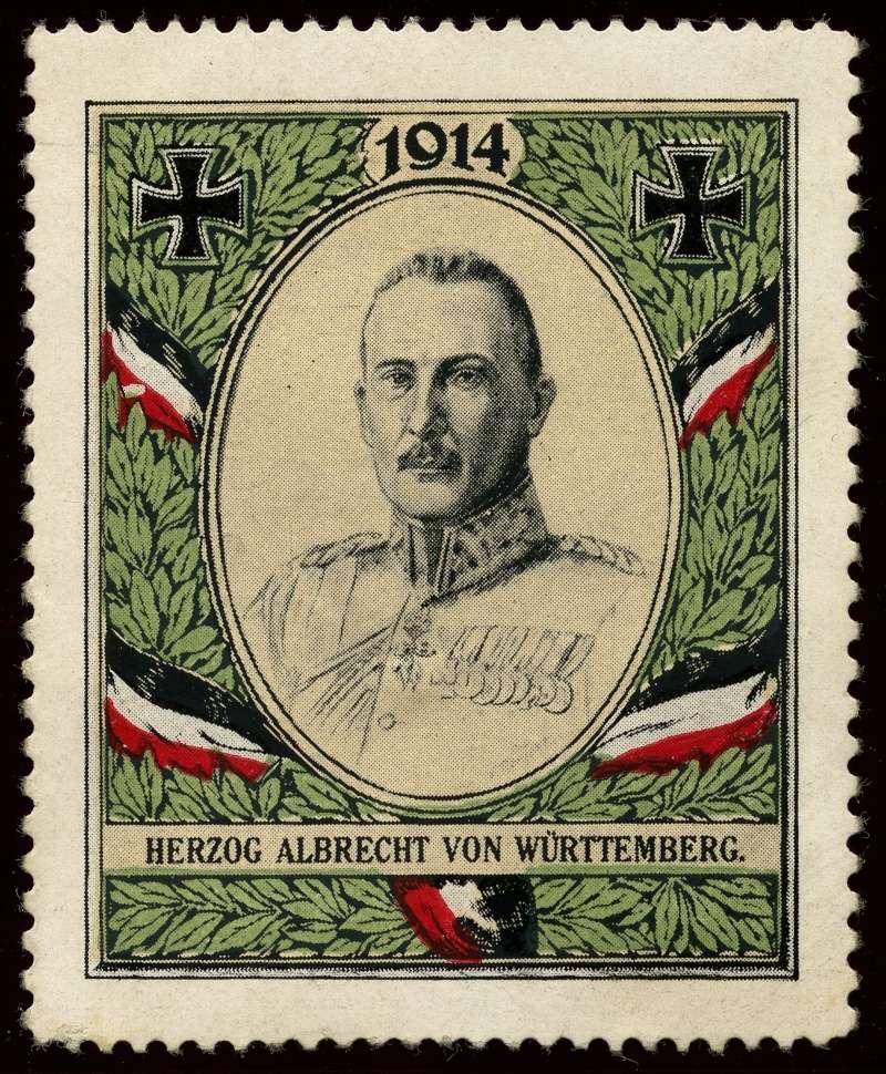Nachlass-Sammlung Vignetten, etc. ab 1896 - Kaiserreich, usw. 710
