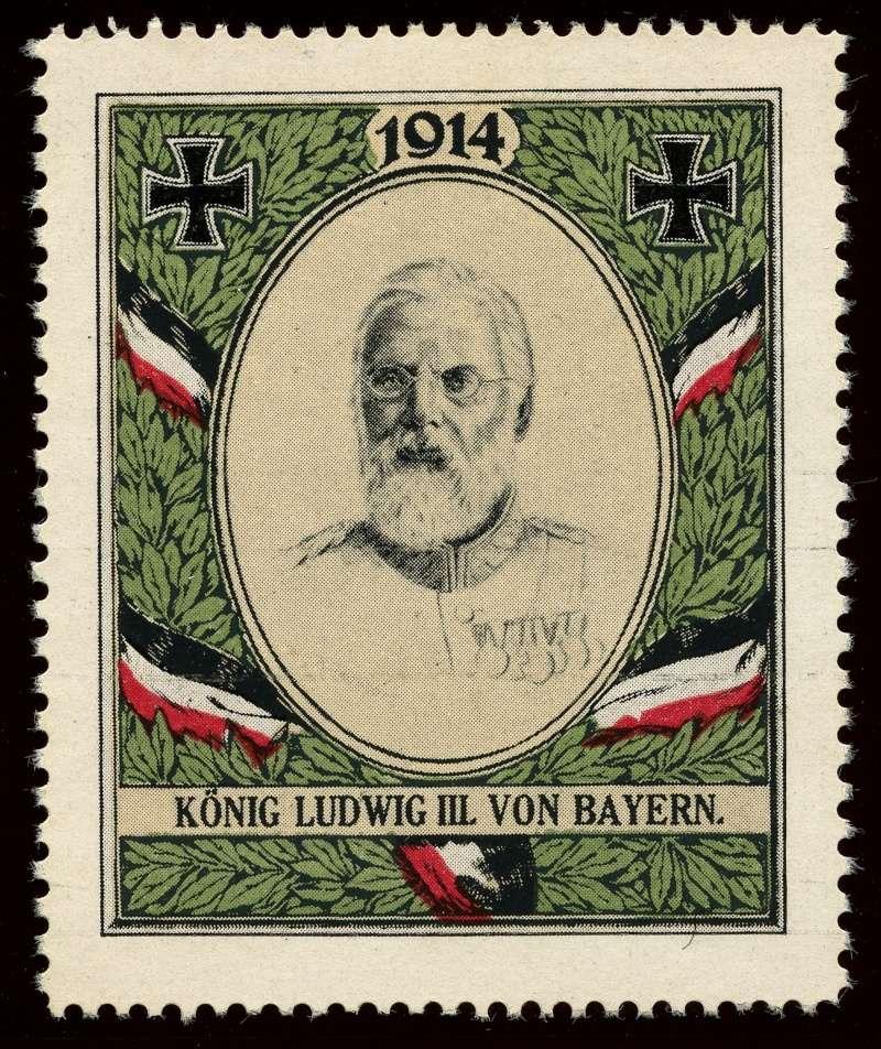 Nachlass-Sammlung Vignetten, etc. ab 1896 - Kaiserreich, usw. 810