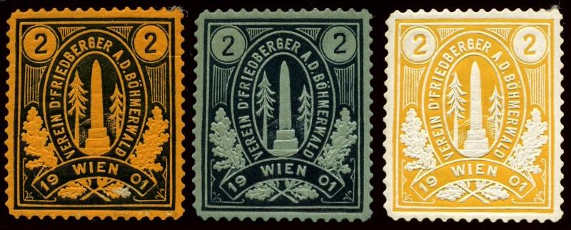 Nachlass-Sammlung Vignetten, etc. ab 1896 - Kaiserreich, usw. Img87210