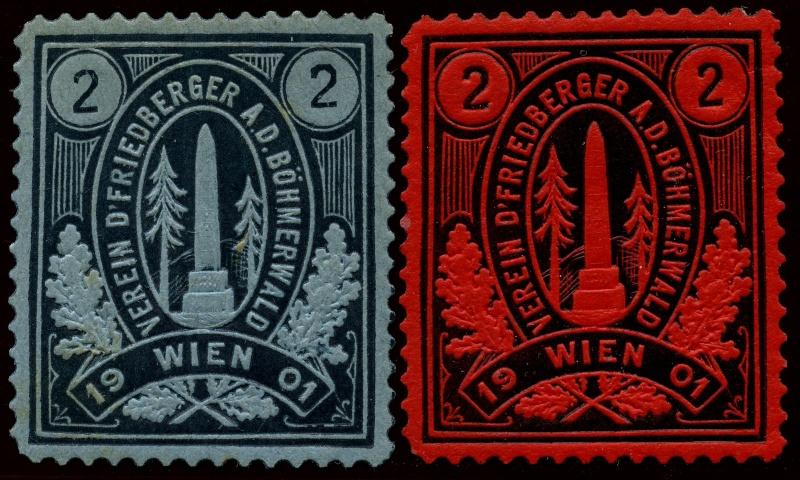Nachlass-Sammlung Vignetten, etc. ab 1896 - Kaiserreich, usw. Img87611