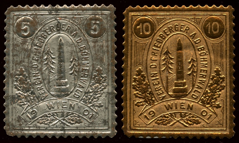 Nachlass-Sammlung Vignetten, etc. ab 1896 - Kaiserreich, usw. Img87910
