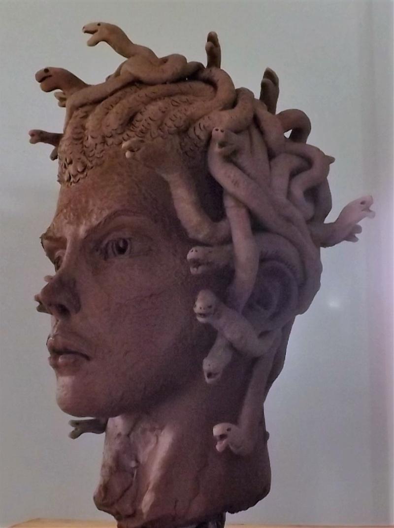 """""""Medusa"""" en cours.......D'apres le choc des titans.... 0611"""