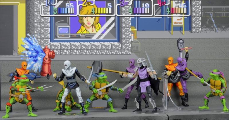 NECA TMNT Arcade Game Figuri12