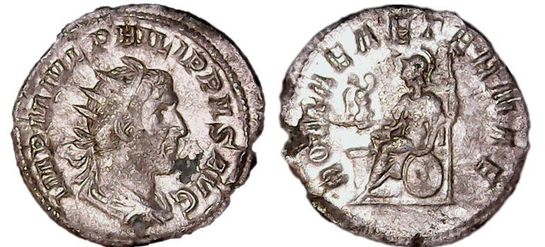 Antoninien Philippe l'Arabe Antoni11