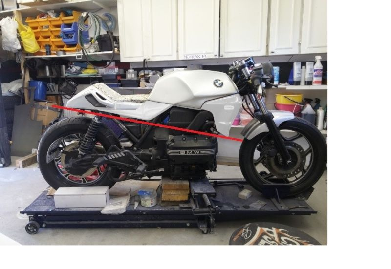 BMW K75 goes cafe racer Wheeld10