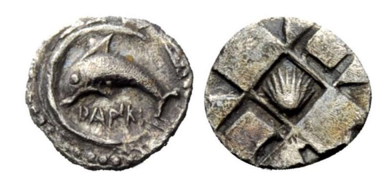 Les monnaies grecques de Brennos - Page 5 Zancle10