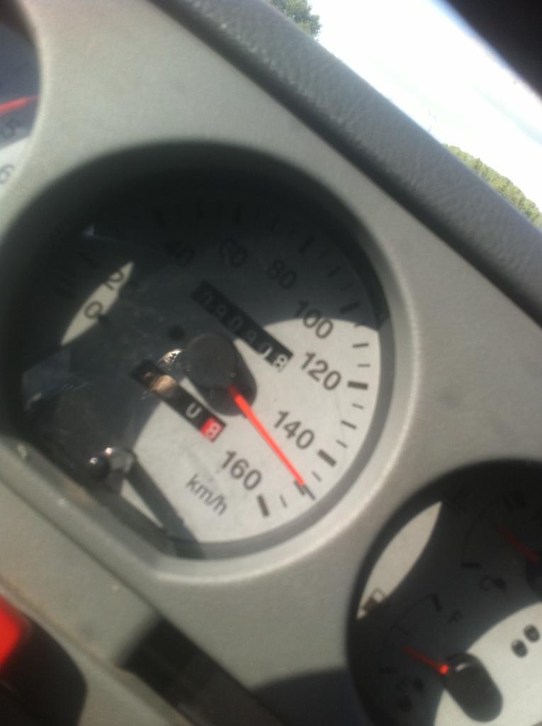 vitesse sur la route 15010