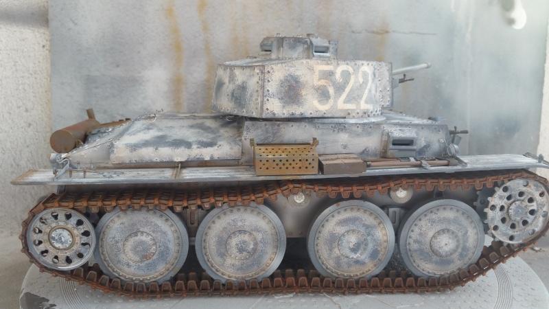 Panzer 38(T) Ausf.E/F - 1/16 - PANDA HOBBY. mise en boue  - Page 8 20160321