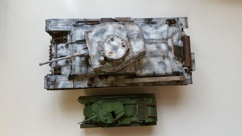 Panzer 38(T) Ausf.E/F - 1/16 - PANDA HOBBY. mise en boue  - Page 10 20160432