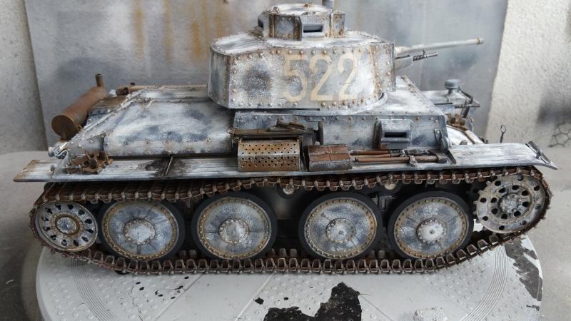 Panzer 38(T) Ausf.E/F - 1/16 - PANDA HOBBY. mise en boue  - Page 10 20160435