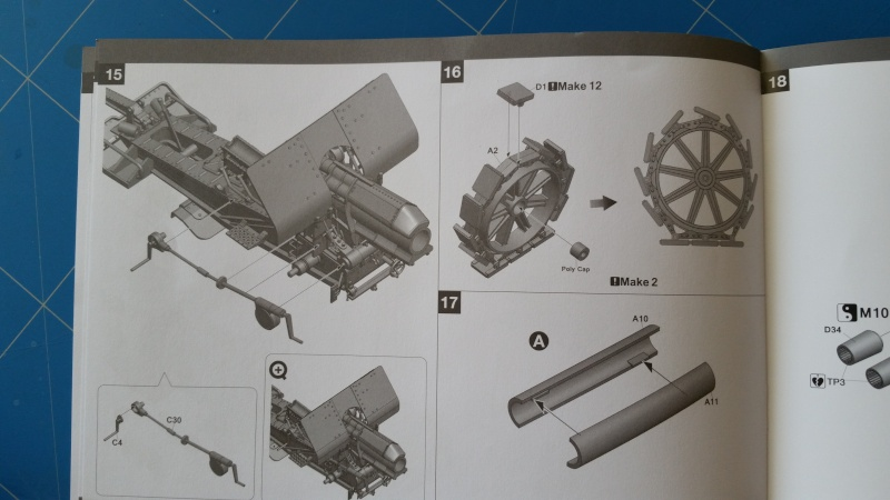 Krupp 21cm Mörser 10-16  Takom 1:35 20160443