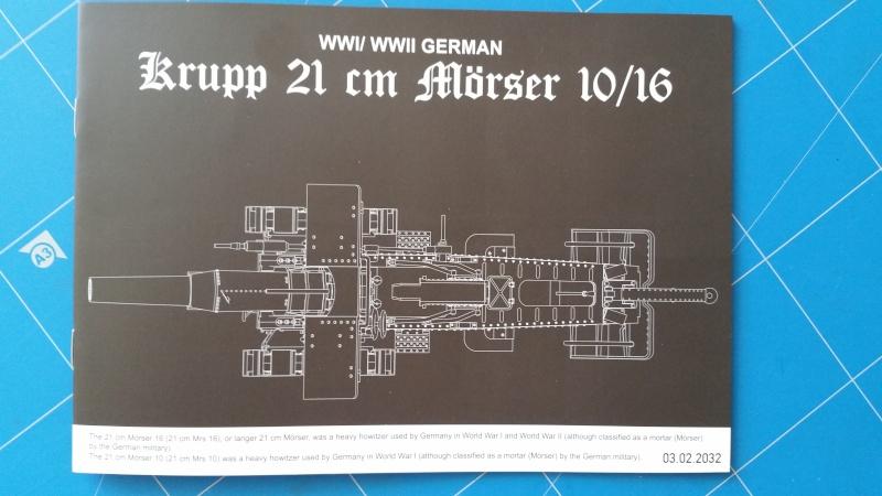 Krupp 21cm Mörser 10-16  Takom 1:35 20160447