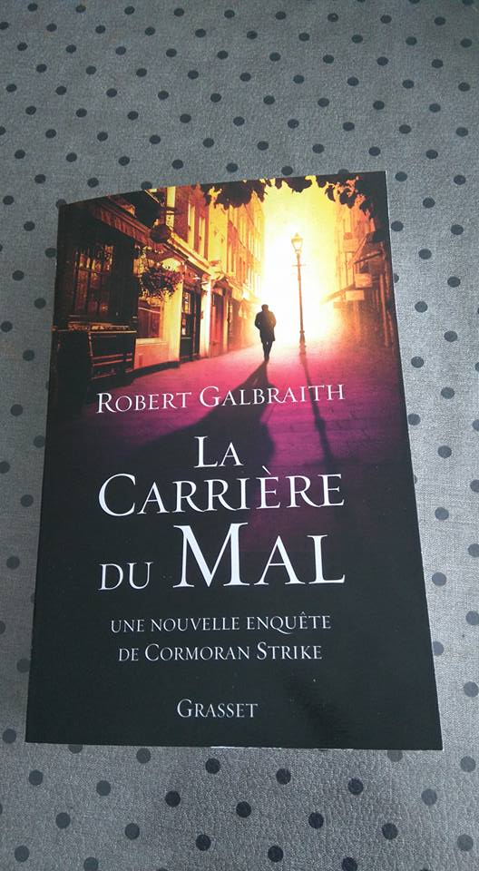 Carrer of evil [3eme tome des aventures de Cormoran Strike] 12321410