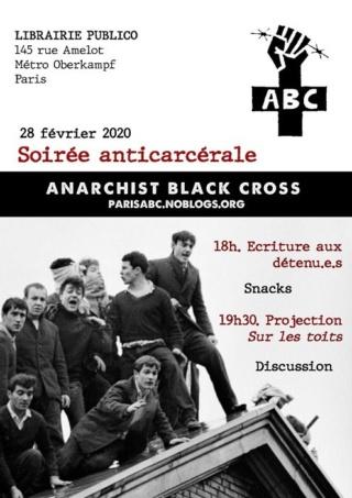 [Invit] ce soir :Soirée anticarcérale  à Paris 87552210