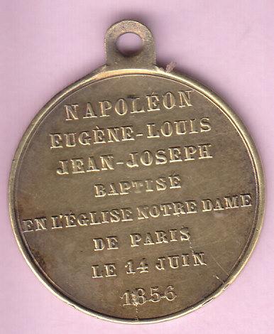 médaille Napoléon Eugéne Louis Img_0010