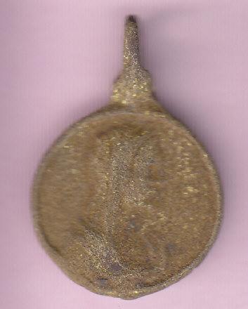 Médaille A: Le Sauveur du Monde (Salvator Mundi) R: La Mère du Sauveur (Mater Salvatoris)XVIIèm . Medail17