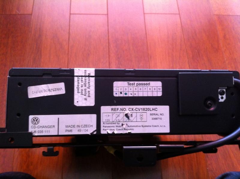 Ampli d'origine 7L0 035 456 A / 12 Channel / AMP T5  Img_6810