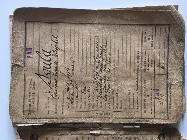 Papiers militaires Livret11
