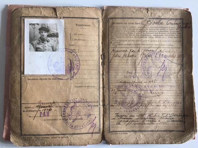 Papiers militaires Livret12