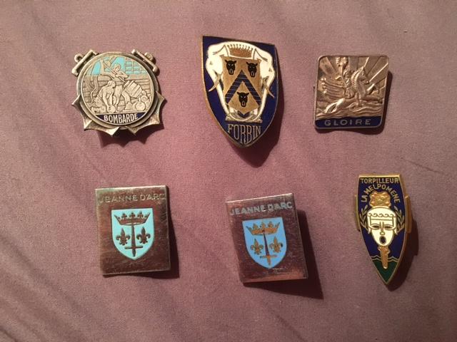 Quelques insignes (Flo45) Mar10