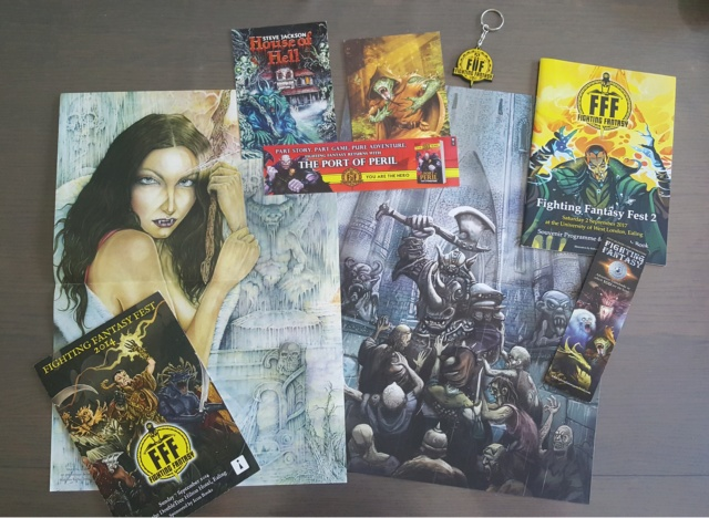 Collection Fighting Fantasy 1410