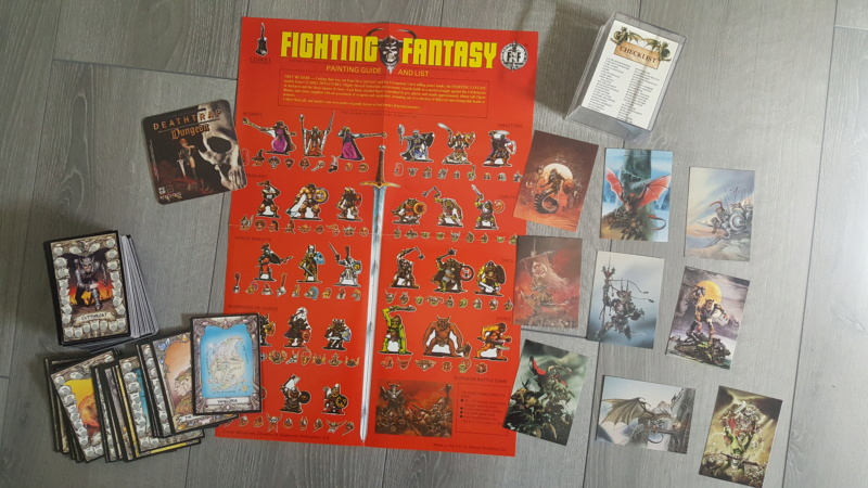 Collection Fighting Fantasy 20190311