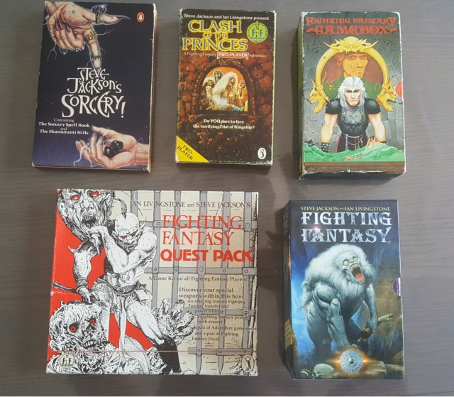 Collection Fighting Fantasy 210