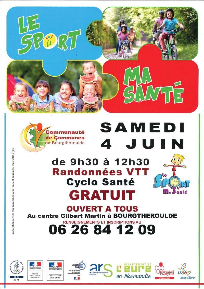 [Sam. 4 juin 2016] Sport ma Santé Bourgtheroulde Affich10
