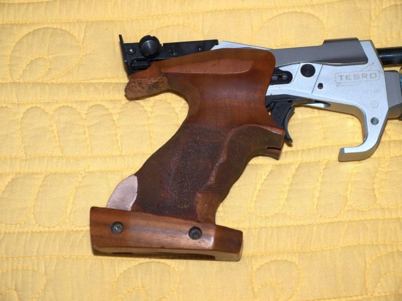 prise en main sur crosse pistolet Angle111