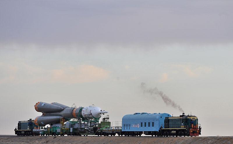 fusée Soyouz et transporteur spatial  Bazcko11