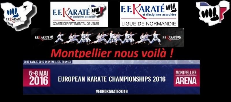 Championnat d'Europe de karaté pour Eurois