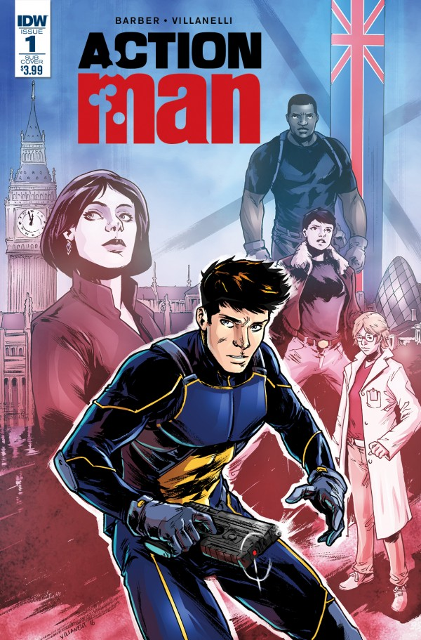 NEW OFFICIAL ACTION MAN COMIC GETS ITS RELEASE DATE :) Comic_14