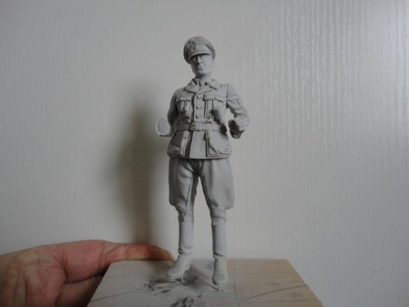 Officier de cavalerie SS WWII - 120 MM - VERLINDEN   ( fini mis en galerie ) Dsc09941