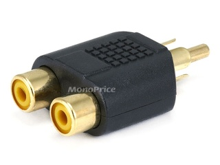 Problema: collegare speakers 2.0 e subwoofer a switch RCA a 2 canali. Splitt10