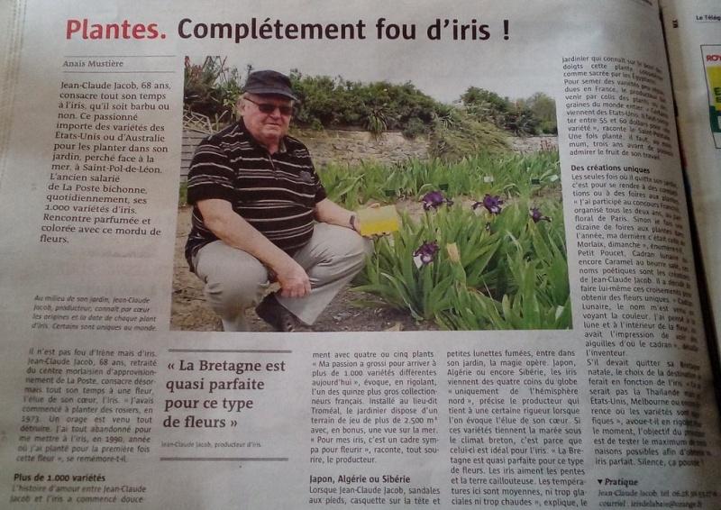 A la Une du journal Le Télégramme ! Jc210