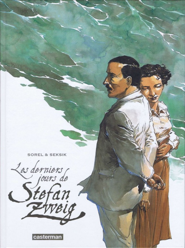 Les derniers jours de Stefan Zweig [Sorel & Seksik] Couv_110