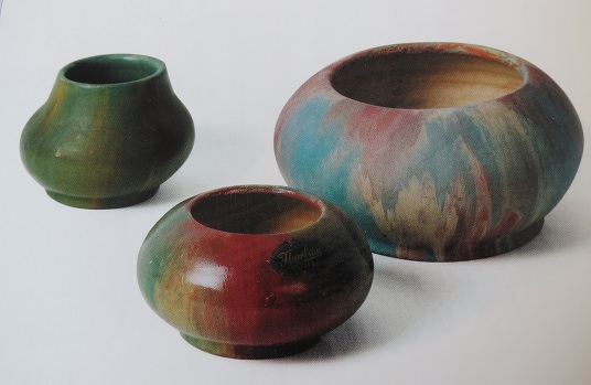 Are these vases Glen Afton / Partridge Pottery ?? Silva_16